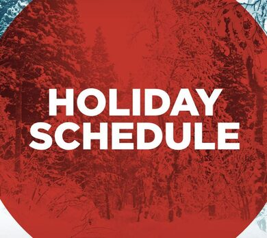 Holy Trinity Catholic Church Holiday Mass Schedule