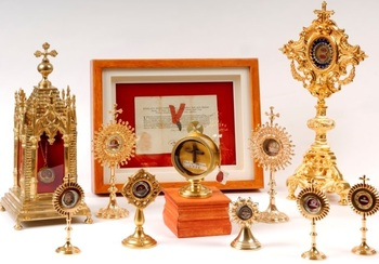 Sacred Relics Exposition