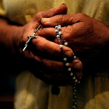 Rosary at the Rail - Every Tuesday at 6:30 PM