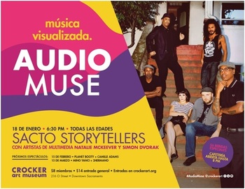 Audio Muse: Sacto Storytellers