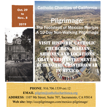 Catholic Charities of California Peregrinajes