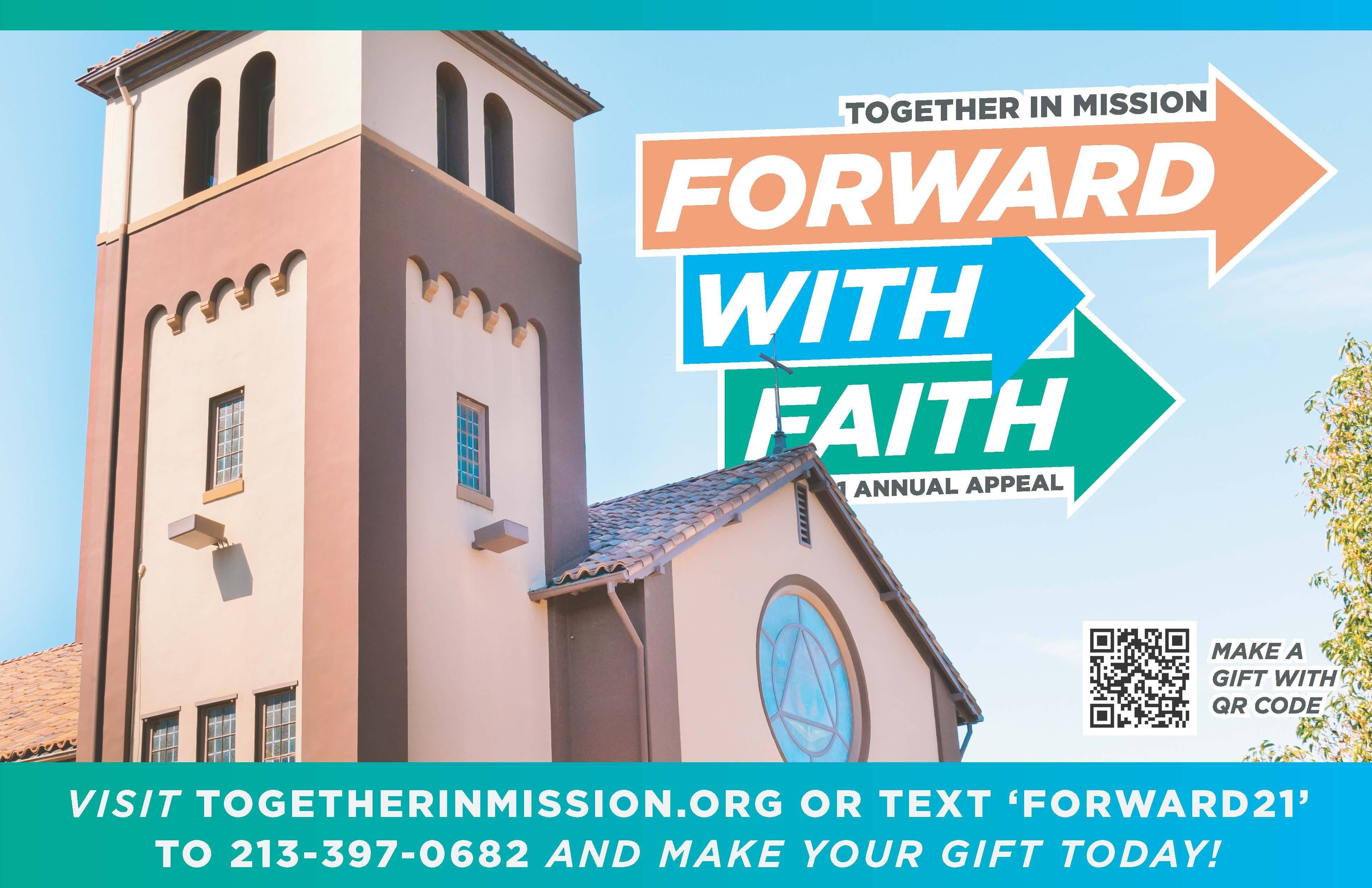 Give Now to Together in Mission!