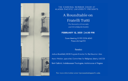 A roundtable discussion on Fratelli Tutti