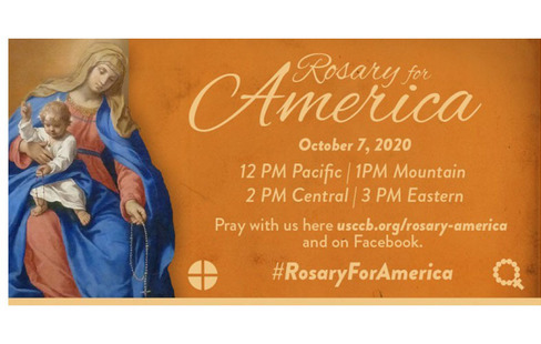 ROSARY FOR AMERICA, OCTOBER 7, 2020
