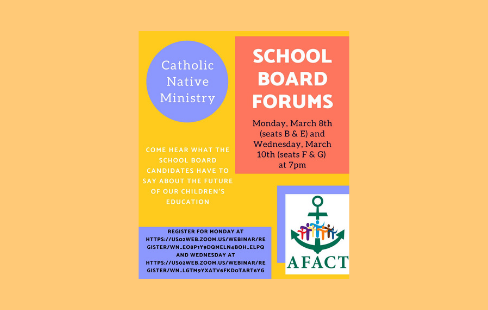 Catholic Native Ministry School Board Forum