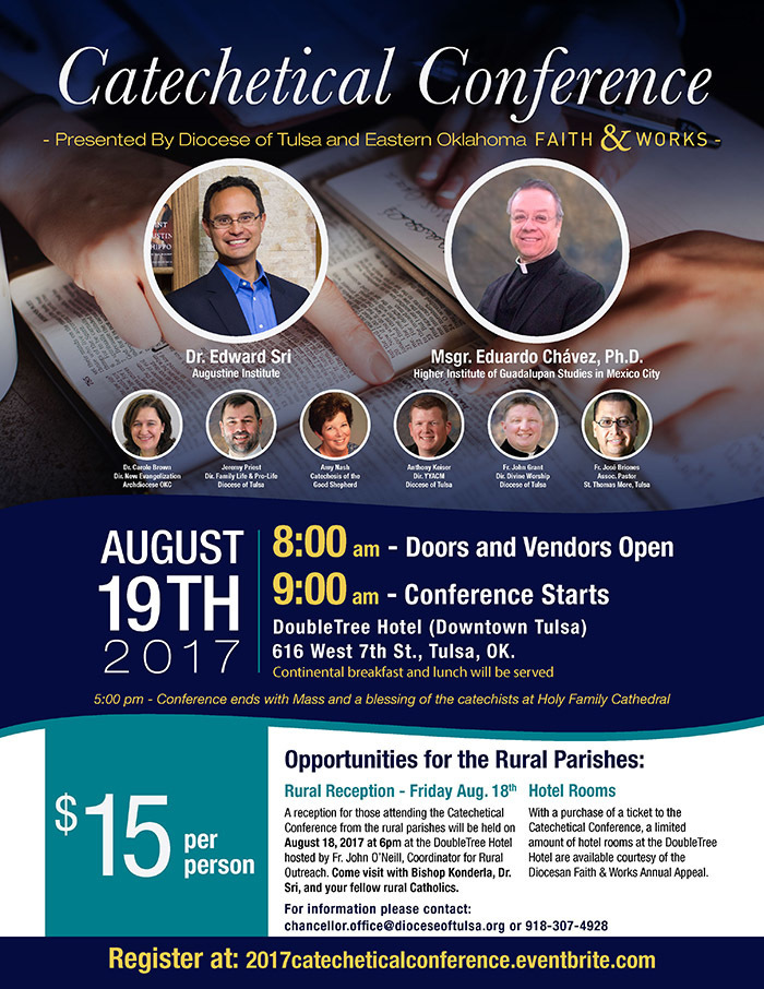 2017 Catechetical Conference | The Roman Catholic Diocese of Tulsa
