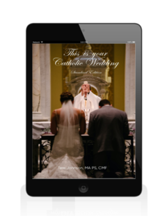 This is Your Catholic Wedding Ebook on tablet