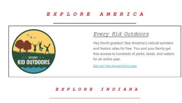 Every Kid Outdoors (4th Grade Students)