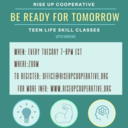 Rise UP Cooperative life skills for teens