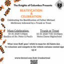 Trunk or Treat for Seminarian Education