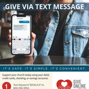 Give by Text Message!