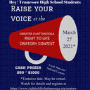 Right to Life Oratory Contest for High Schoolers