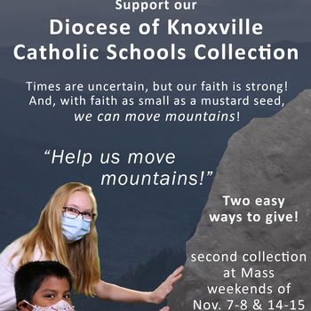 Catholic Schools Tuition Support Collection Nov. 7-8 & 14-15