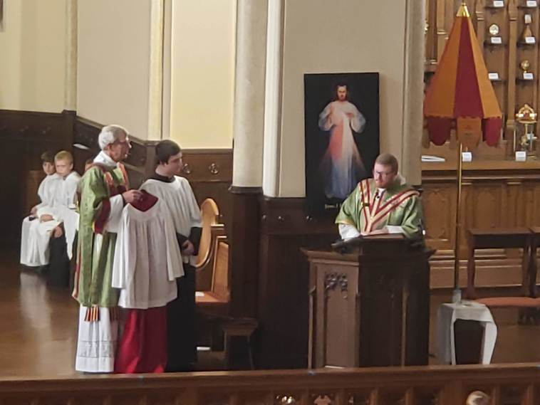 Presentation of Red Cassock for Promotion to MC