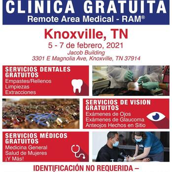 Health, Dental, and Vision Services at Free RAM Clinic in Knoxville