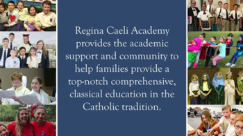 Regina Caeli Academy Information Session in Chattanooga on April 18