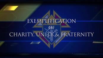 Knights of Columbus Exemplification of Charity, Unity, and Fraternity