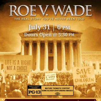 Free Showing of Roe v. Wade at The Gathering