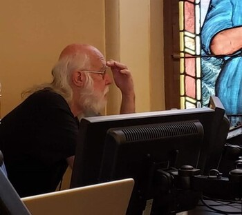 Pray for Kim Murfin, Basilica Sound Technician, recovering from COVID-19 (Updated 9/14/21)