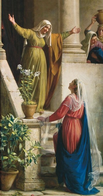 The Visitation, by Carl Bloch