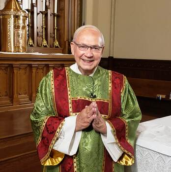 Pray for +Dcn. Tom McConnell, who died in his sleep - Vigil Service 7pm Oct. 8, Funeral 11am Oct. 9