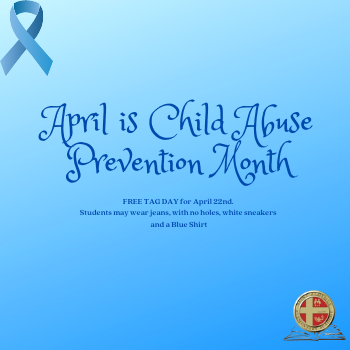 FREE TAG DAY for Child Abuse Prevention Month