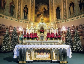 Dec 31 - Last Mass of Year - New Year's Eve