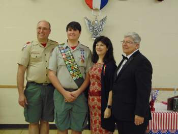 New Eagle Scout from our troop!