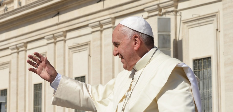'Astonished' pope asks for Mary's intercession to heal divided U.S.