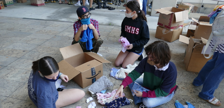 St. Michael Students Responded When Need Arose