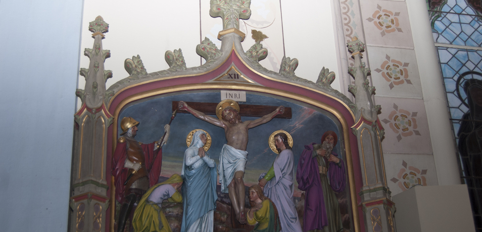 Stations trace Jesus' final journey to Calvary