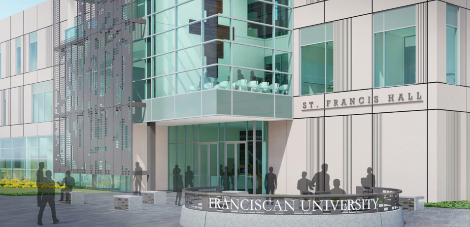 FranU receives Approval to Build  St. Francis Hall
