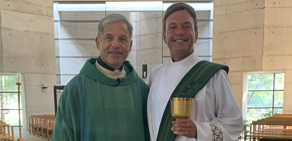 Chalice Has Special Meaning for Father Roussel