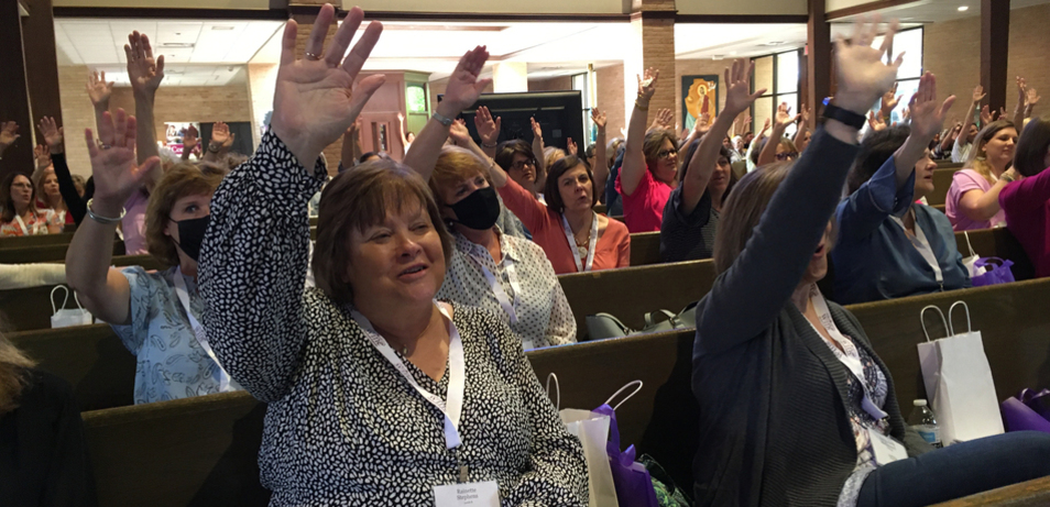 Women Reminded of Unique Mission at Conference