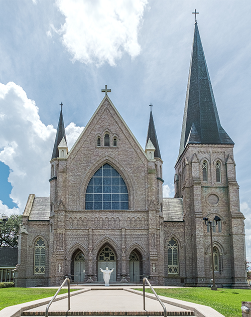 Ascension of Our Lord in Donaldsonville, Church Exterior