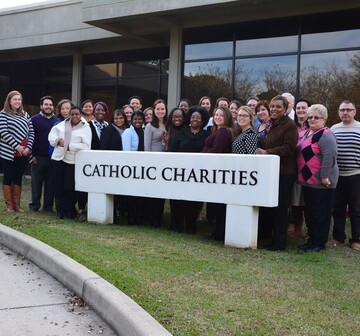 Get Involved with Catholic Charities