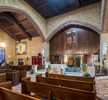 Sacred Heart Chapel, Carville