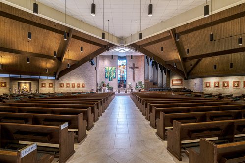 Interior of St. Alphonsus Ligouri, Greenwell Springs