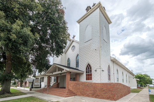 Exterior of St. Catherine of Siena, Donaldsonville