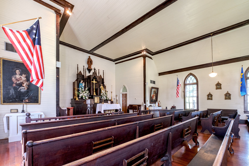 St. Francis of Pointe Coupee Chapel Interior