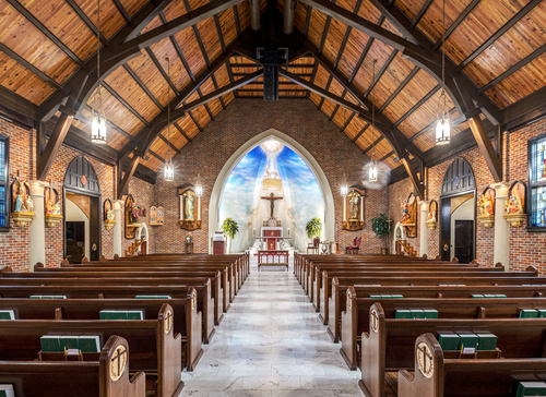 Interior of St. Helena, Amite