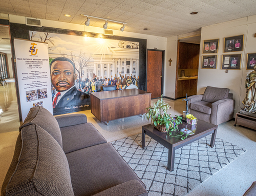 Interior of Dr. Martin Luther King, Jr. Student Center at Southern University, Baton Rouge