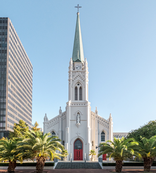 Exterior of St. Joseph Cathedral, Baton Rouge