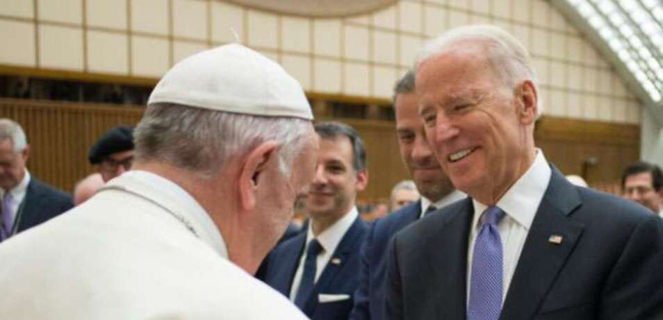 Pope to Biden: Respect Human Rights
