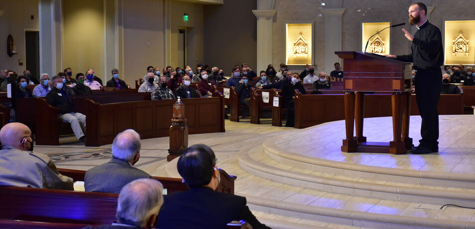 The voice of St. Joseph heard at men's conference