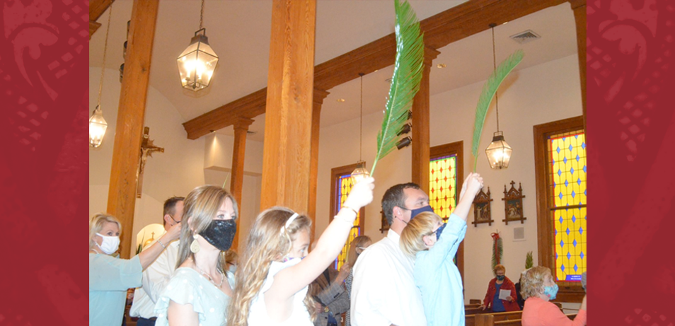 Palm Sunday in St. Francisville