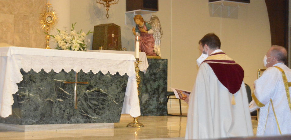 Consecration to the 'Quiet Man'