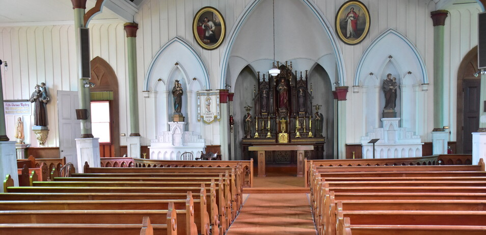 Restoring Beauty to St. Mary's Chapel