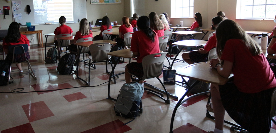 Examen Helps SJA Students Come 'Back to the Table'