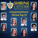 Announcing the Shrine Catholic High School Class of 2021 Top Ten